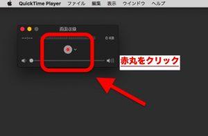 ステップ2:赤丸をクリック
