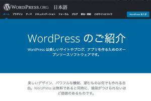 アフィリエイトブログの定番ツール。サイト作成はWordPress一択!